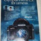 1986 Olympus OM-PC Camera ad
