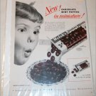 1951 Welch's Junior Mints ad