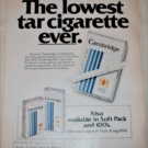 1980 Cambridge Cigarette ad #2