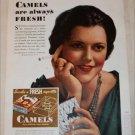 1933 Camel Cigarette ad