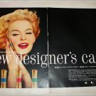 1958 Cutex Lipstick Designer Case ad