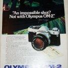 Olympus OM-2 Camera ad