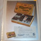 1931 Whitman's Sampler Chocolates ad