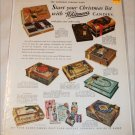 1931 Whitman's Candies Christmas ad