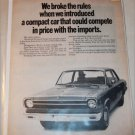 1969 American Motors Rambler 2 dr sedan car ad