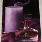 1999 Dark Vanilla Perfume ad