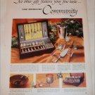 1956 Community Silverware ad #1