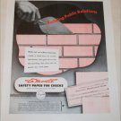 La Monte Safety Paper for Checks ad