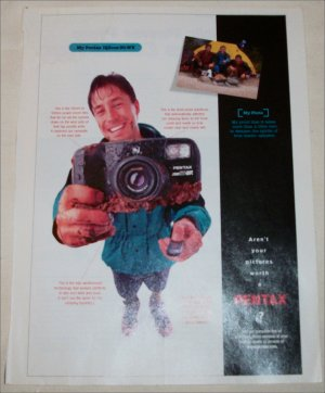 1997 Pentax zoom90-WR Camera ad