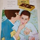 1963 Whitman's Sampler Chocolates Mom and Son ad