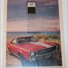 1969 Remington Shaver ad featuring American Motors AMX