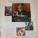 1935 Camel Cigarette ad featuring Mrs Brookefield Van Renselaer