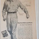 1944 Big Yank Home Front Uniform ad