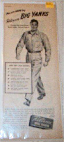 1946 Big Yank Shirts & Pants ad