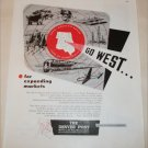 Denver Post Go West ad