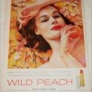 1959 Dorothy Gray Wild Peach Lipstick ad
