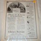 1922 Library Bureau ad