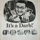 1957 Polaroid Land Camera ad featuring Steve Allen