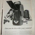 1957 Polaroid Land Camera ad