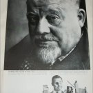 1958 Polaroid Land Camera ad featuring Burl Ives