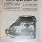 1969 American Motors AMX car ad