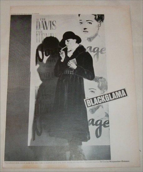 Blackglama Mink Coat ad #1