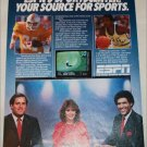 1986 ESPN ad featuring Chris Berman, Gayle Gardner & Greg Gumbel