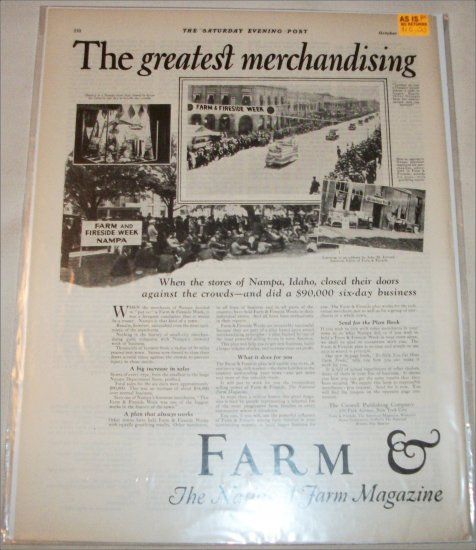 1925 Farm & Fireside ad