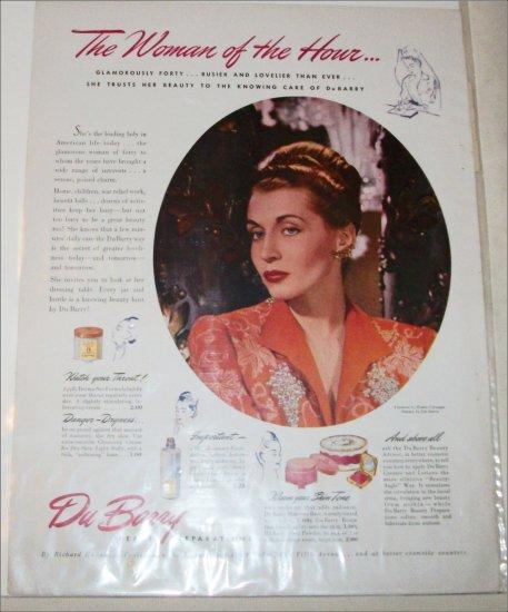 1941 Du Berry Cosmetics ad