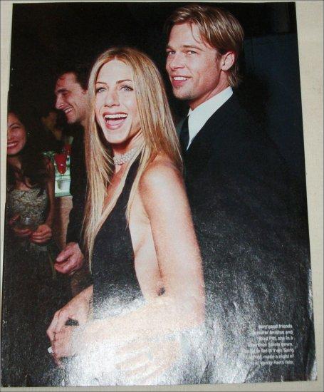 Jennifer Anniston & Brad Pitt picture