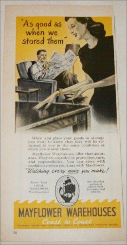 Mayflower Warehouses ad