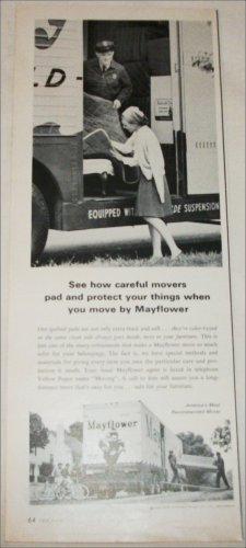 1965 Mayflower Warehouses ad