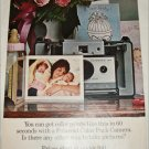 1965 Polaroid Land Automatic 103 Camera Mother and Babies ad