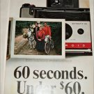 1965 Polaroid Land Automatic 104 Camera Traveler ad
