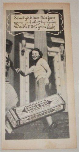 Wrigley's Double Mint Gum Schoolgirls ad