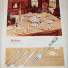 1956 1847 Rogers Brothers Heritage Silverware Set ad