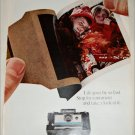 1967 Polaroid Land Automatic 210 Camera Boy & Girl ad