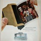 1967 Polaroid Land Automatic 210 Camera Halloween ad