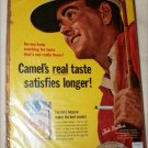 1965 Camel Cigarette ad featuring Jack Brothers