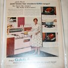 Gas ad featuring Julia Meade