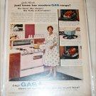 Gas ad featuring Julia Meade