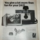 1968 Polaroid Land Big Swinger 3000 Camera ad #1