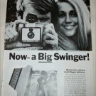 1968 Polaroid Land Big Swinger 3000 Camera ad #2