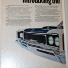 1970 American Motors Rebel Machine 2 dr ht car ad