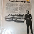 1970 American Motors Lineup Car ad
