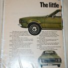 1970 American Motors Hornet SST 4 dr sedan car ad
