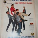 1960 Blue Bell Wranglers ad
