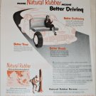 Natural Rubber Bureau Better Driving ad