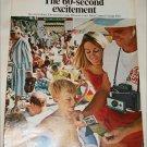 1968 Polaroid Land Automatic 210 Camera Beach ad