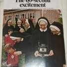 1968 Polaroid Land Automatic 210 Camera Nuns ad #1